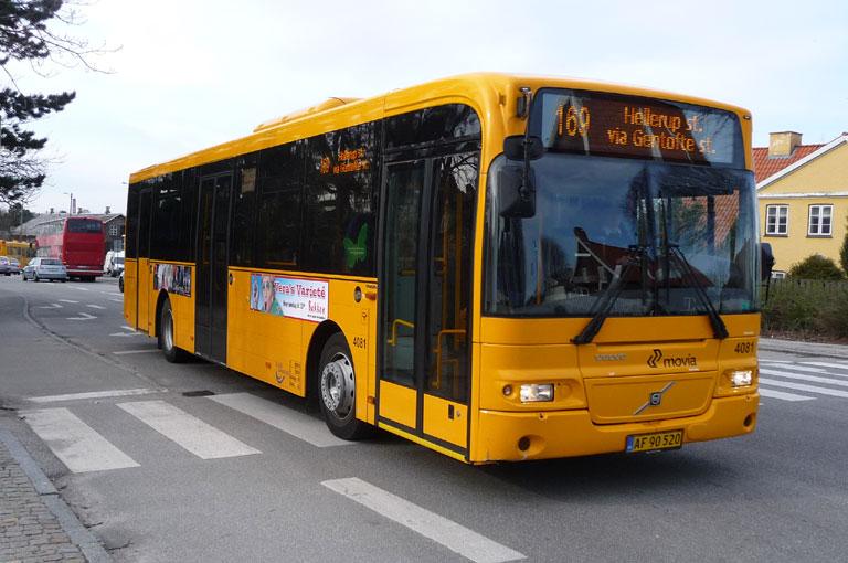 De Blaa Omnibusser 4081/AF90520 ved Gentofte st. den 30. marts 2010