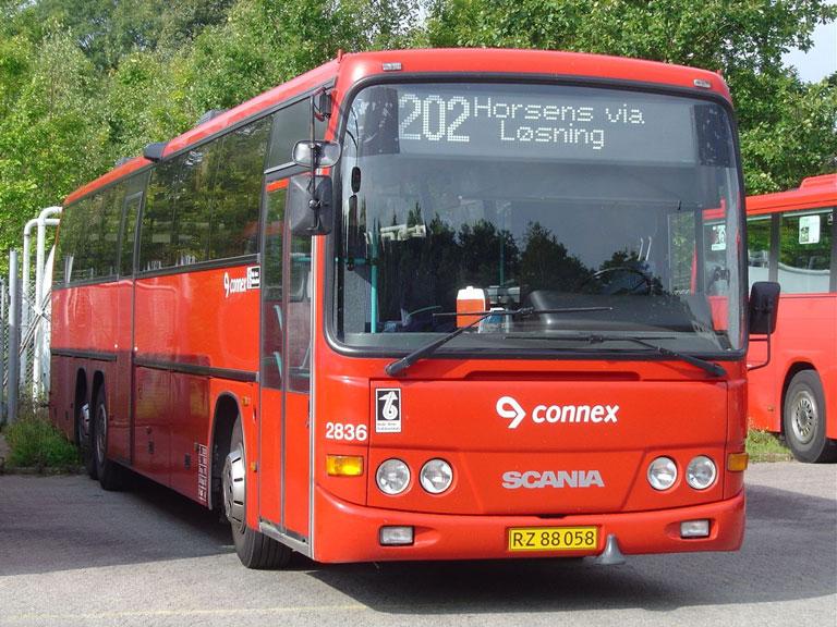 Connex 2836/RZ88058 i garagen i Horsens den 10. september 2004