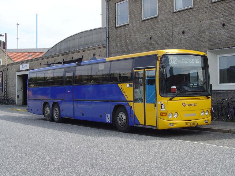 Connex 2836/RZ88058 på Århus rtb. den 9. august 2005