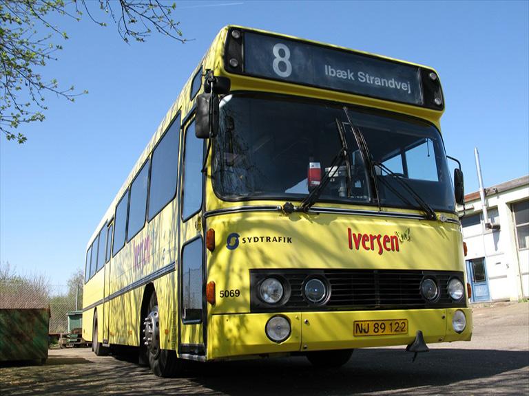 Iversen Busser 5069/NJ89122 i garagen i Vejle den 24. april 2009