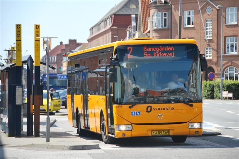 Pan Bus 7346/XJ89369 i Esbjerg den 21. juli 2009