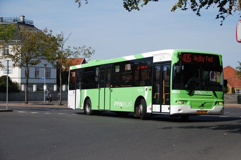 Tide Bus 8076/UJ94139 i Middelfart den 24. august 2009