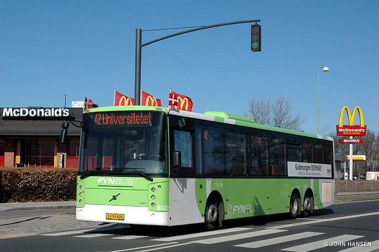 Tide Bus 8022/XJ94604 på Stærmosegårdsvej i Odense den 16. april 2010