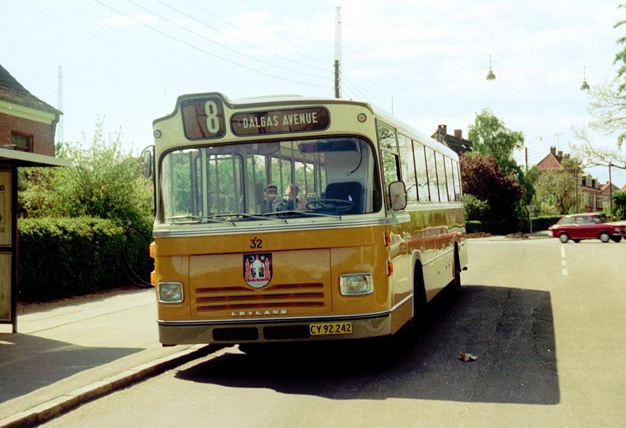 Århus Sporveje 32/CY92242 i Marienlund i Århus den 25. maj 1975