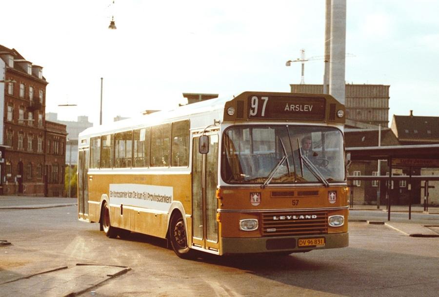 Århus Sporveje 57/DV96831 på Århus rtb. den 20. maj 1977