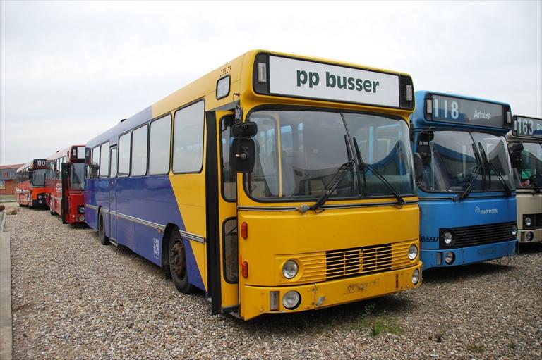 Ex. PP Busselskab LY93264 ved Dansk Bus Renovering i Tørring den 17. juli 2009