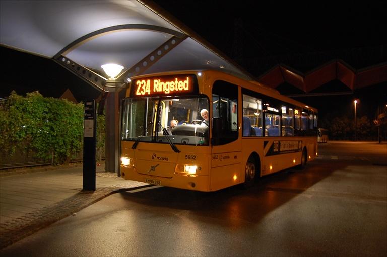 Arriva 5652/XM90588 i Slagelse busterminal den 25. august 2009
