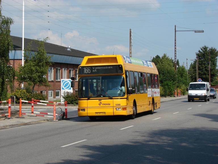 Arriva 1088/PE97344 på Islevdalsvej i Rødovre den 6. august 2009