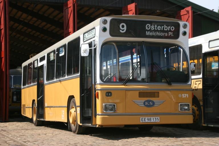 KS 571/EE98135 på Sporvejsmuseet Skjoldenæsholm den 29. juli 2006