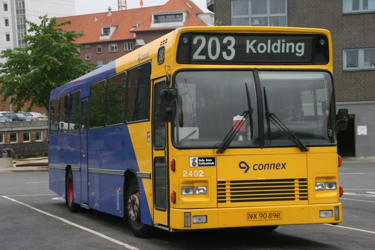 Connex 2402/NX90898 på Vejle Trafikcenter den 16. juni 2006