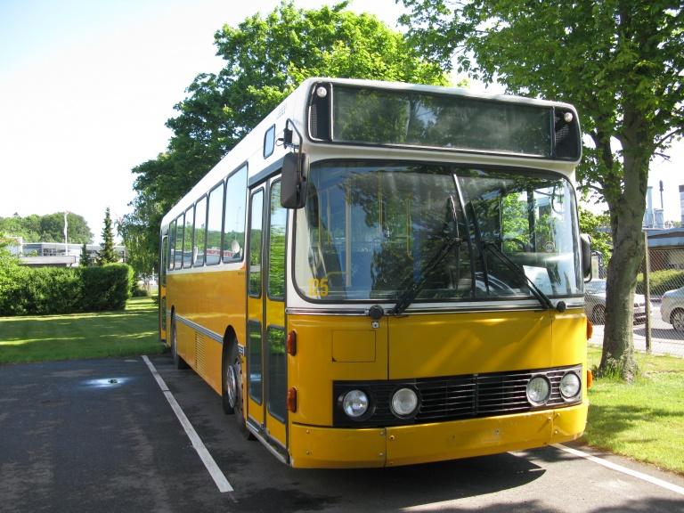 Bussen Trafikkselskap, Norge 125/PP17055 ved DAB Buscenter i Silkeborg den 13. juni 2009