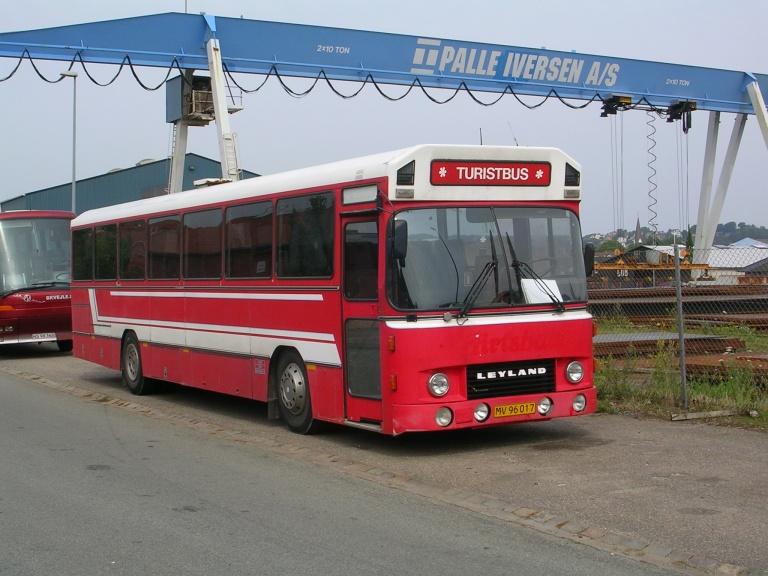 ? MV96017 i Sjællandsgade i Vejle den 23. juli 2004