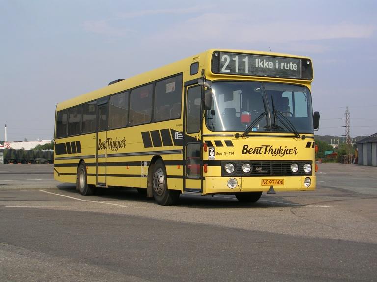 Bent Thykjær 114/NC97606 i Vejle den 5. august 2004