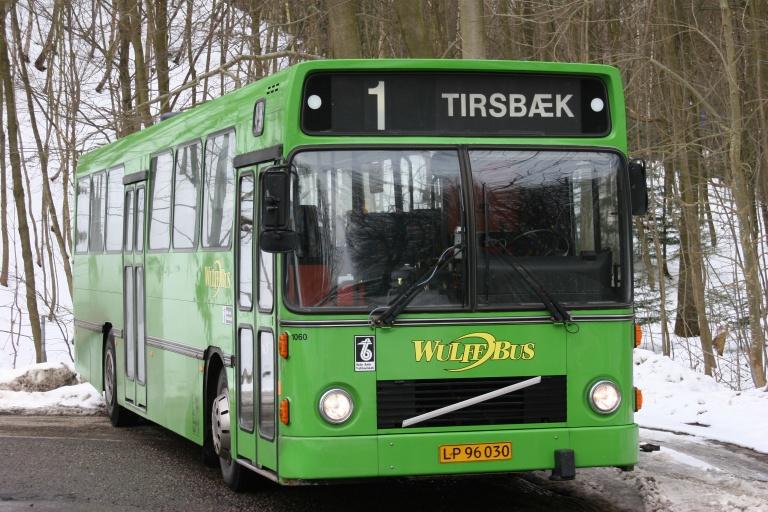 Wulff Bus 1060/LP96030 i Tirsbæk ved Vejle den 28. februar 2005
