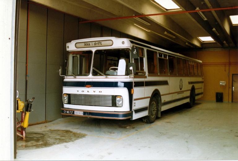 Landtransportskolen CY40717 på skolen i Avedøre Holme i juni 1986