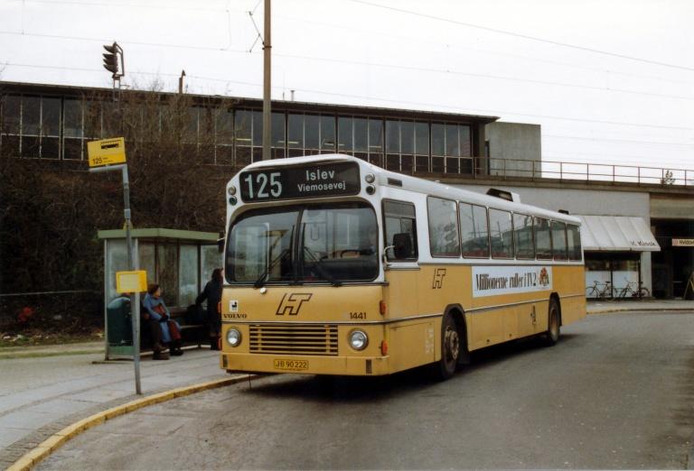 HT 1441/JB90222 ved Hvidovre Station i marts 1990