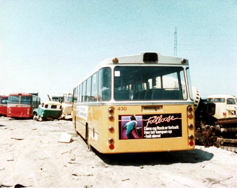 HT 430 hos Tappernøje Lastbilophug i juli 1984