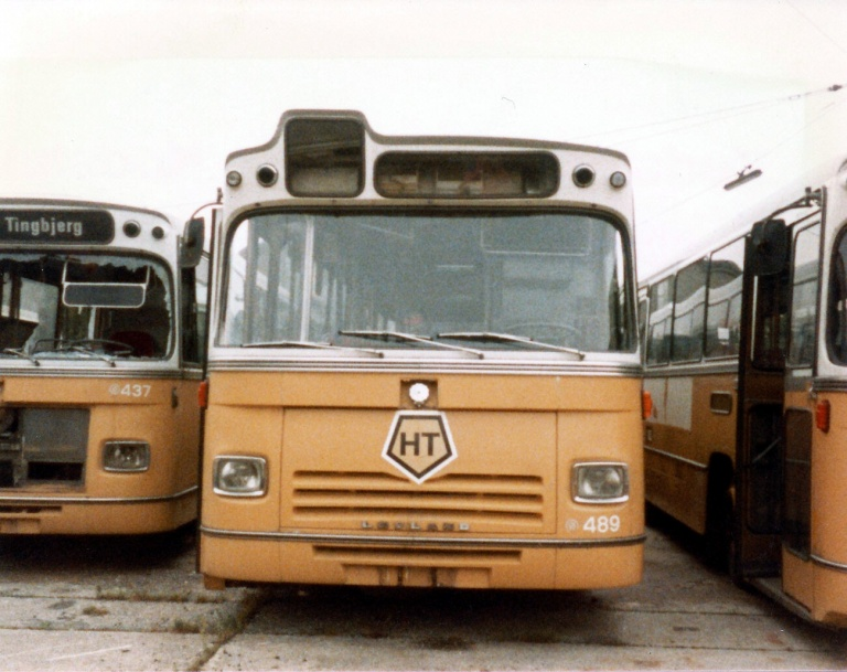 HT 489 (AX88892) udrangeret i Valby garage i august 1984