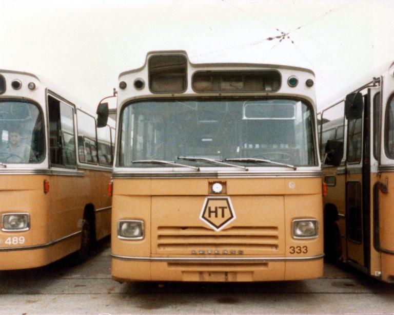 HT 333 (AJ94254) udrangeret i Valby garage i august 1984