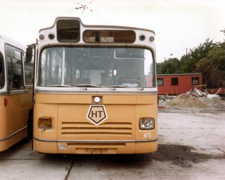 HT 473 udrangeret i Valby garage i august 1984
