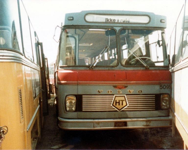 HT 5095 hos Tappernøje Lastbilophug i juli 1984