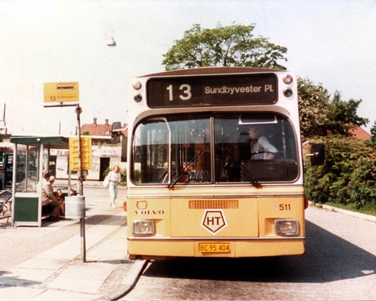 HT 511/BC95404 ved Vanløse Ålekistevej i juni 1984