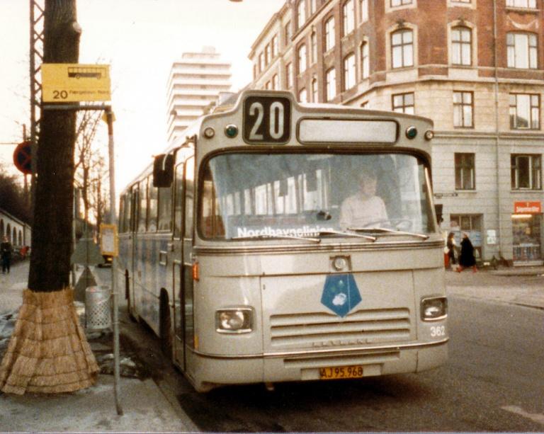 HT 362/AJ95968 ved Nordhavn Station i marts 1986