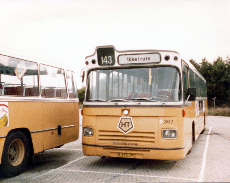 HT 367/AJ95791 i Ballerup garage i oktober 1985