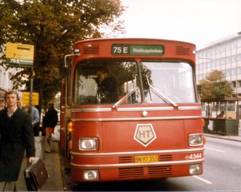HT 4344/BN97353 ved Nørreport Station i september 1985