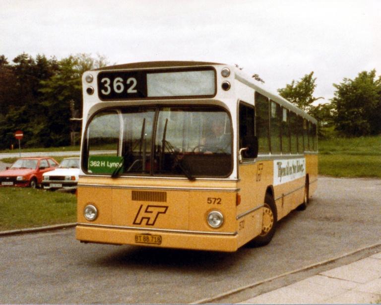 HT 572/BT88718 ved Sjælsmark Kaserne i juni 1986