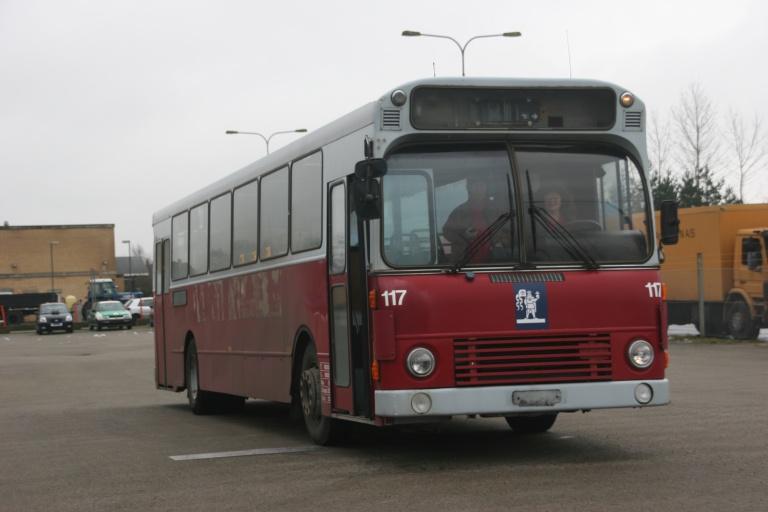 Ex. Odense Bybusser 117 ved KTA Ellested den 26. februar 2007