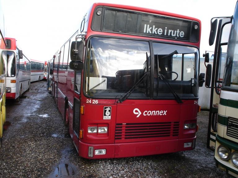 Connex 2426 hos Vejstruprød Busimport den 10. februar 2005