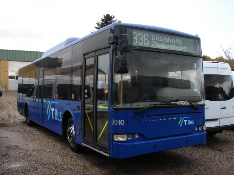 T-Bus 3010 hos Vejstruprød Busimport den 22. oktober 2008