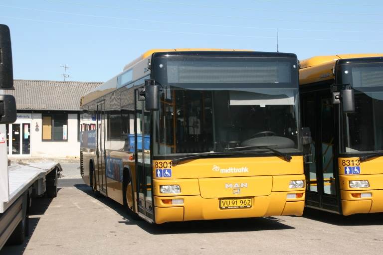 Pan Bus 8301/VU91962 i garagen i Silkeborg den 7. juni 2008