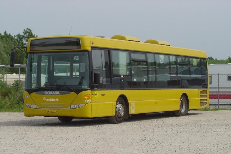 Nobina 6234/XM96459 i Randers den 6. juni 2010