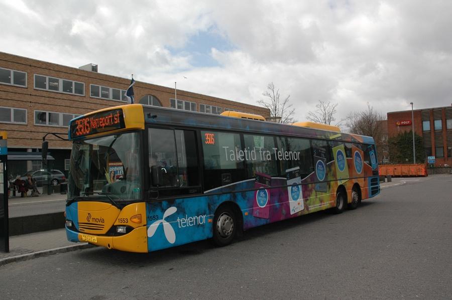 Arriva 1553/TZ89399 ved Ballerup st. den 17. april 2010