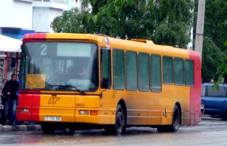 Petropavlovsk T114BR i Petropavlovsk i Kazakhstan den 24. juni 2009