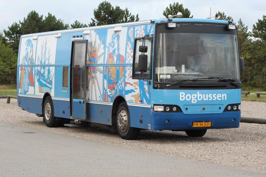 Esbjerg Kommunes Biblioteker PR96521 ved Egebæk-Hviding Idrætscenter den 23. august 2012
