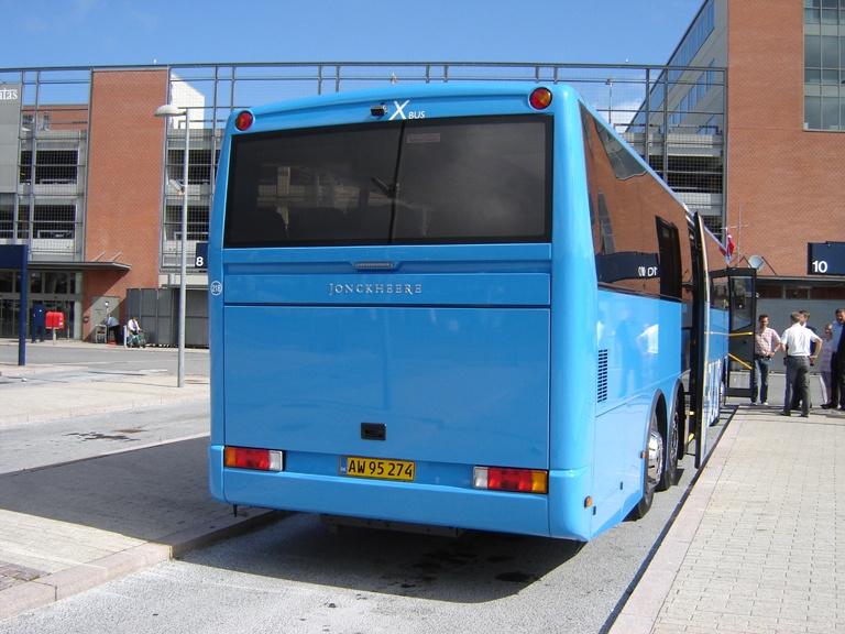 Tylstrup Busser 218/AW95274 på Aalborg Busterminal den 25. juni 2010