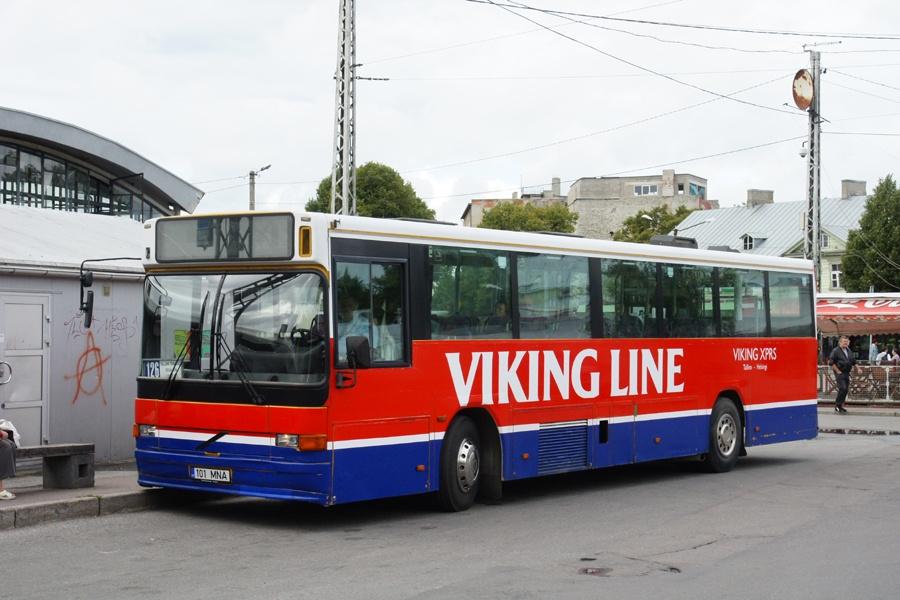 Mulgi Reisid 101MNA i Tallinn i Estland den 31. august 2011