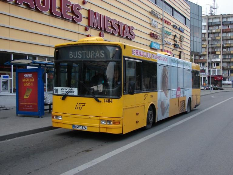 Busturas 1404/BGV874 i Šiauliai i Litauen den 5. august 2008