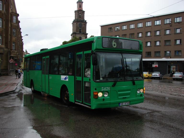 Liepajas Autobusu Parks 5476/HB8798 i Liepaja i Letland den 5. august 2008