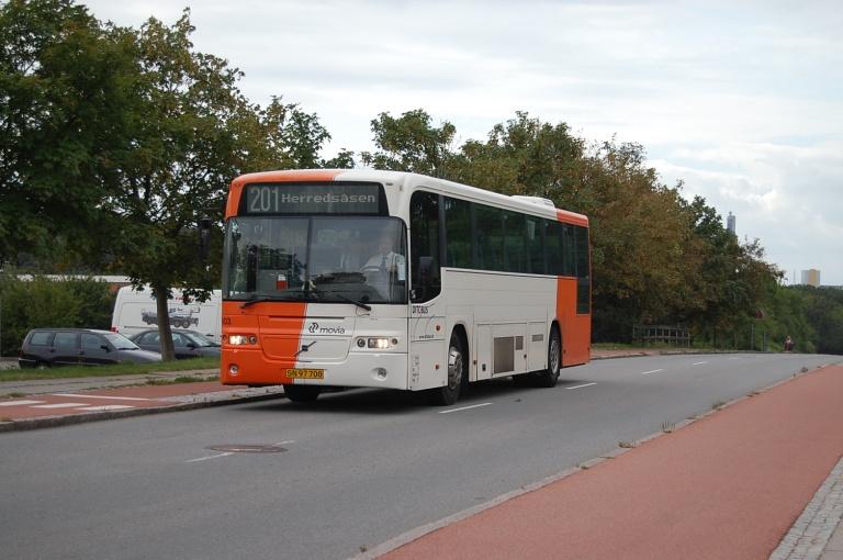Ditobus 603/SN97700 på Klosterparkvej i Kalundborg den 17. august 2009