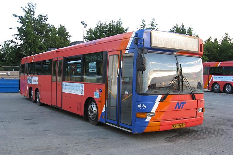 City-Trafik 623/SJ89617 i Aalborg den 4. juli 2010