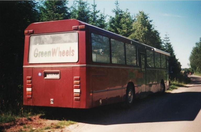 Greenwheels RV44583 på Åstrup Strandvej i Skæring Strand i sommeren 2001