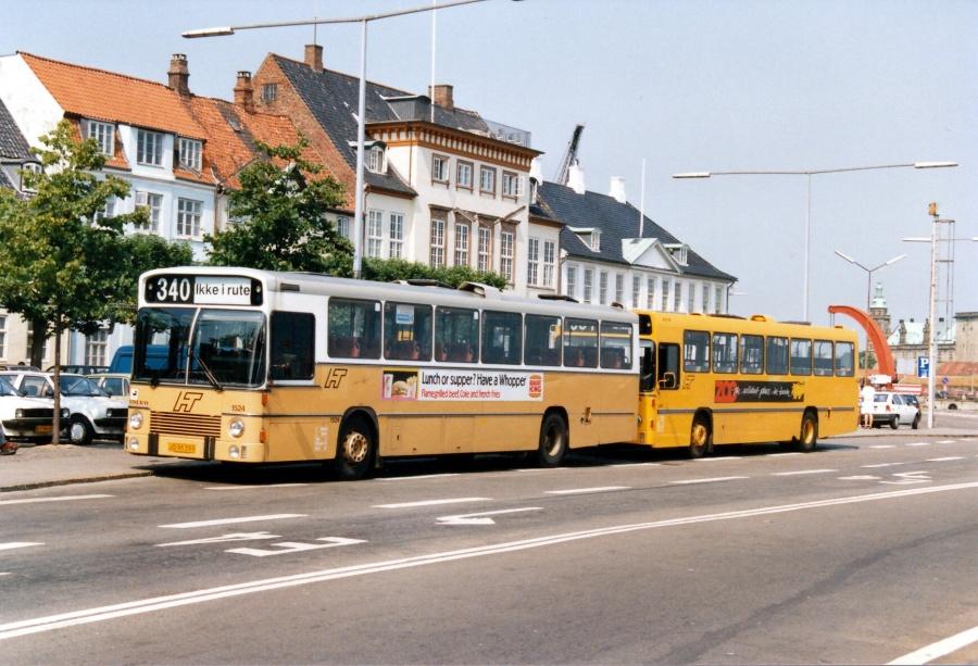 HT 1524/JD95399 i Helsingør i juli 1989