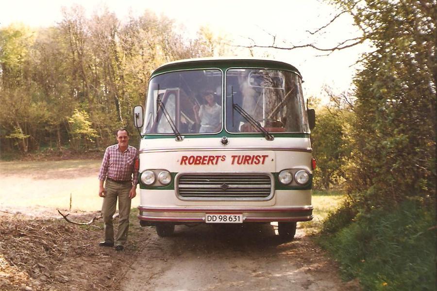 Roberts Turist DD98631 i Broager i maj 1984