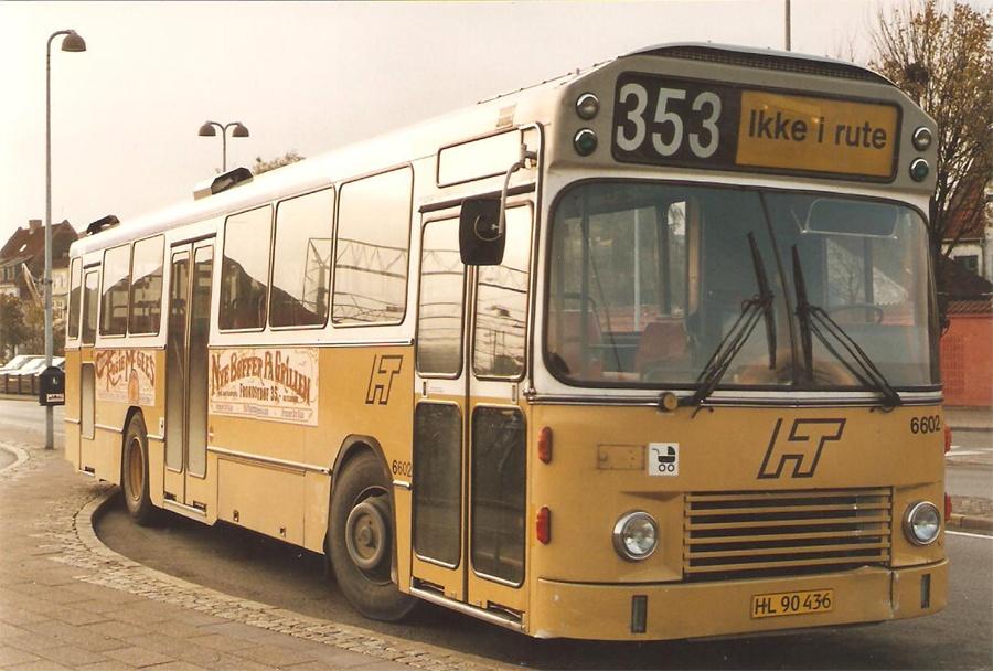 Linjebus 6602/HL90436 ved Helsingør st.