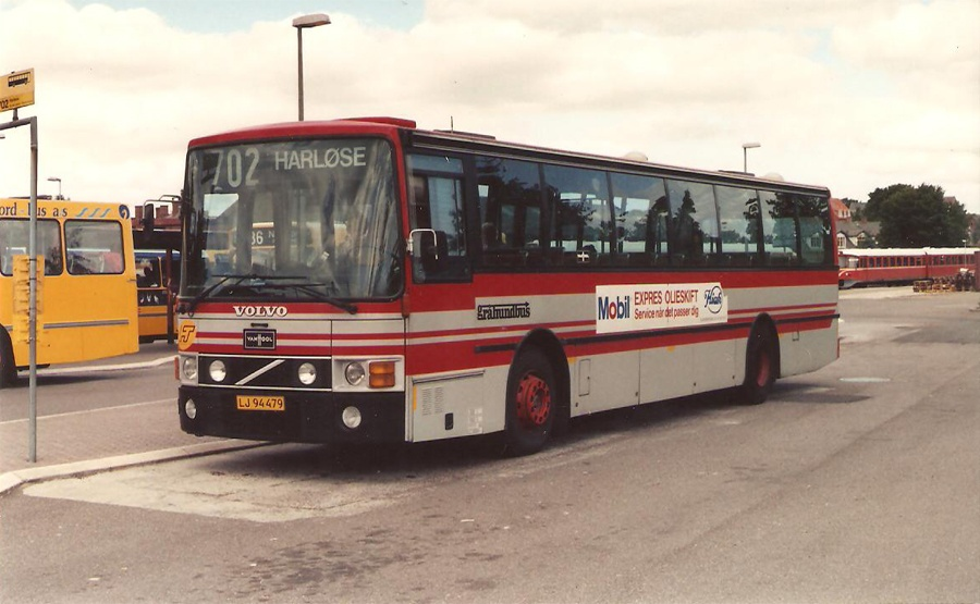 Jørgen Andersen 3/LJ94479 ved Hillerød st. i marts 1993