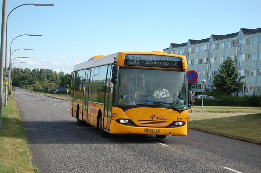Arriva 1791/SU96136 i Magleparken i Ballerup den 25. juli 2010
